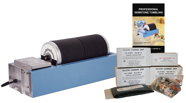 Rock Tumbler Kit New Lortone Model 33B Gem Lapidary Equipment Tools Materials