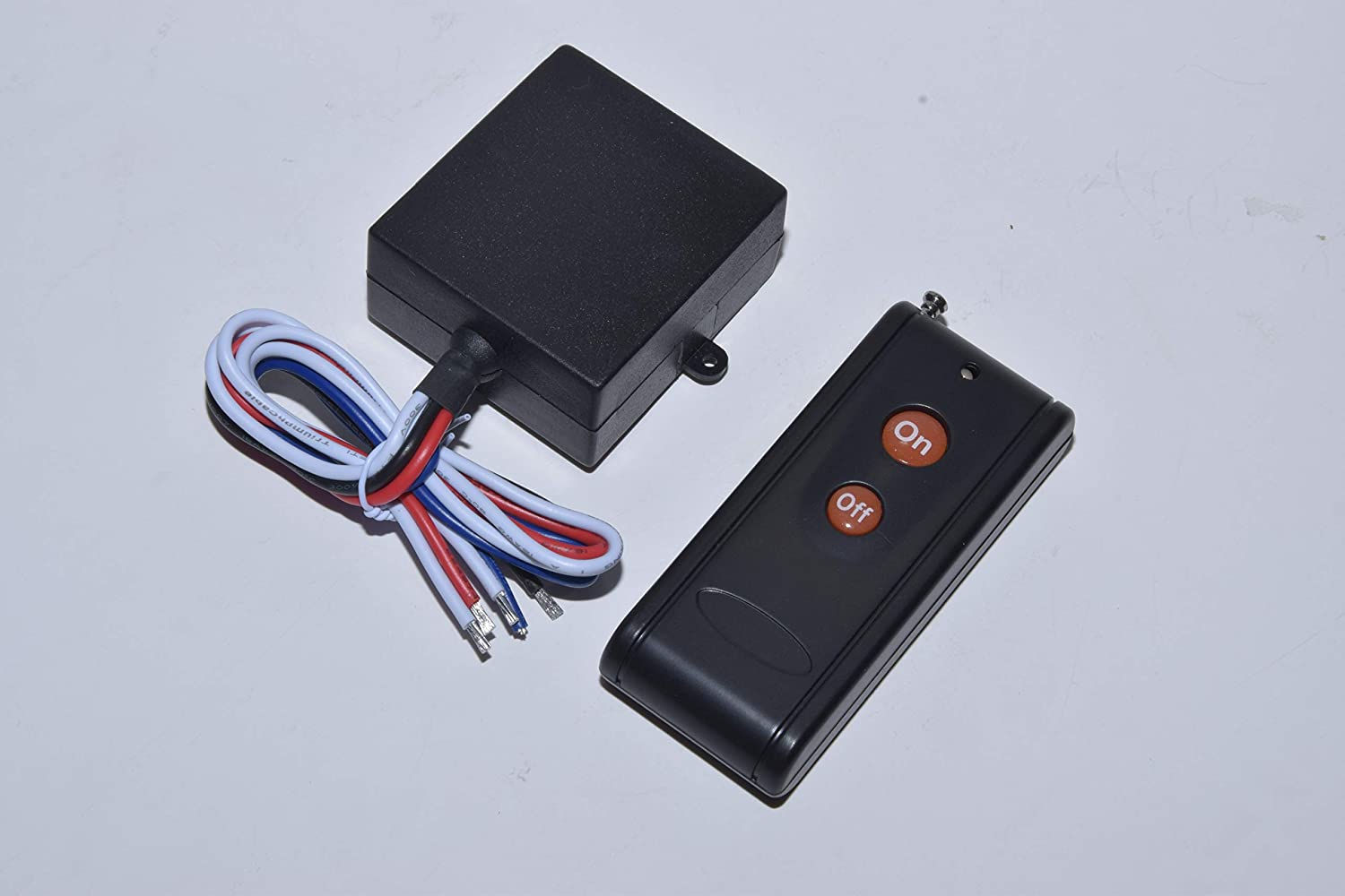 MSD 12V DC dry contact on off relay switch with long range remote control