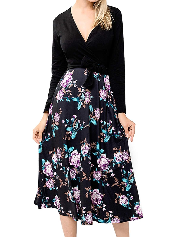 23556fca49 Wrap Dress A Line Skirt - Data Dynamic AG