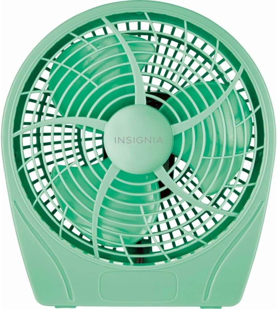 Insignia 9 Personal Table Fan – Green