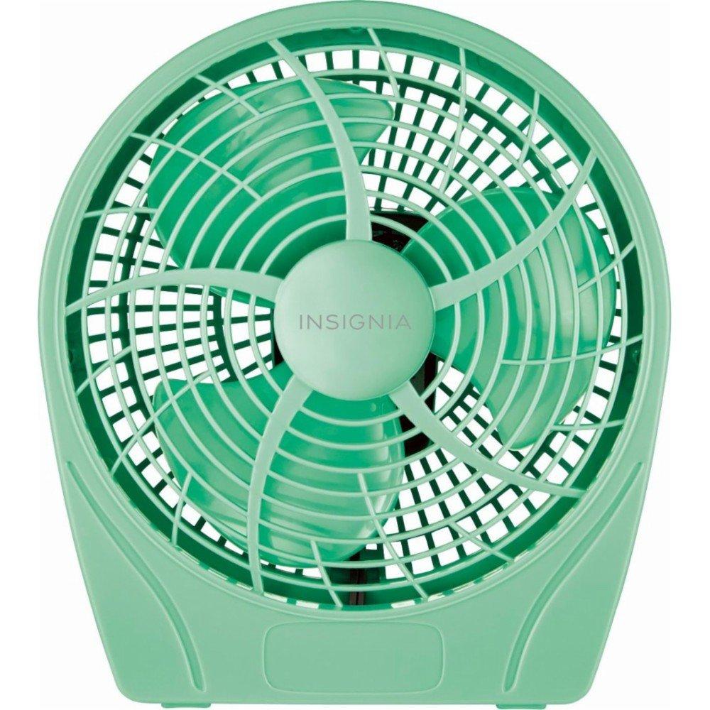 Insignia 9 Personal Table Fan - Green