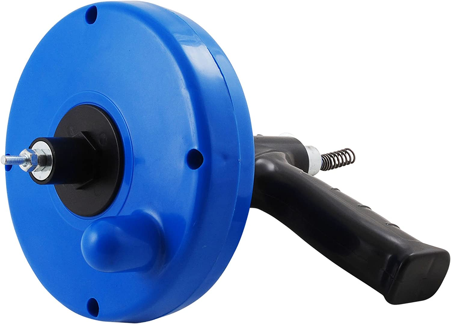 LDR Industries 512 1025 Drum Auger, 25-Feet Plumbing Drill Adapter Snake Clog Remover for Bathtub Drain, Shower and Kitchen Sink