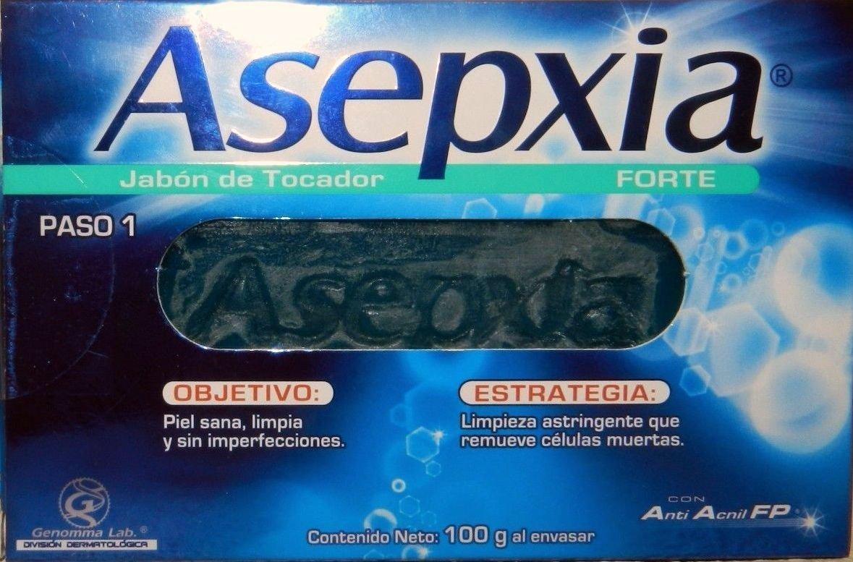 Como lavarse la cara con jabon asepxia