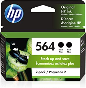 HP 564 | 2 Ink Cartridges | Black | CB316WN