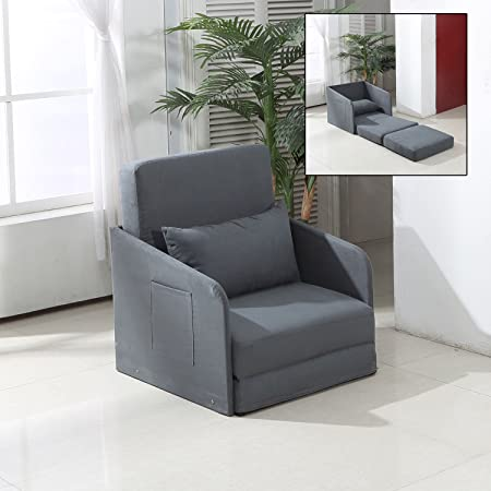 bed full sleeper chair futons product single steel folding structure microfiber mini detail sofa futon