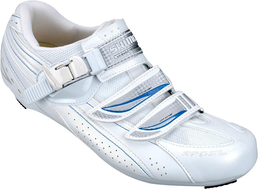 Zapatillas para mujer Shimano SH-WR41 blanco (Tamaño: 37): Amazon ...