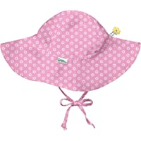 i play. by green sprouts Baby Brim Hat | All-Day UPF 50+ Sun Protection for Head, Neck, & Eyes