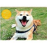 アートプリントジャパン 2019年 柴犬だいふく カレンダー vol.033 1000100970