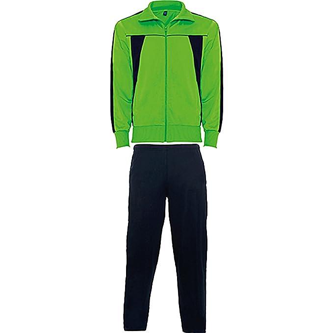 Chándal combinado de chaqueta y pantalón -ROLY (XXL, VERDE ...