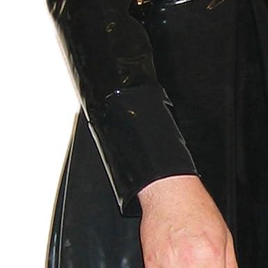 Rubberfashion Latex Matrix Mantel in geklebter Qualität