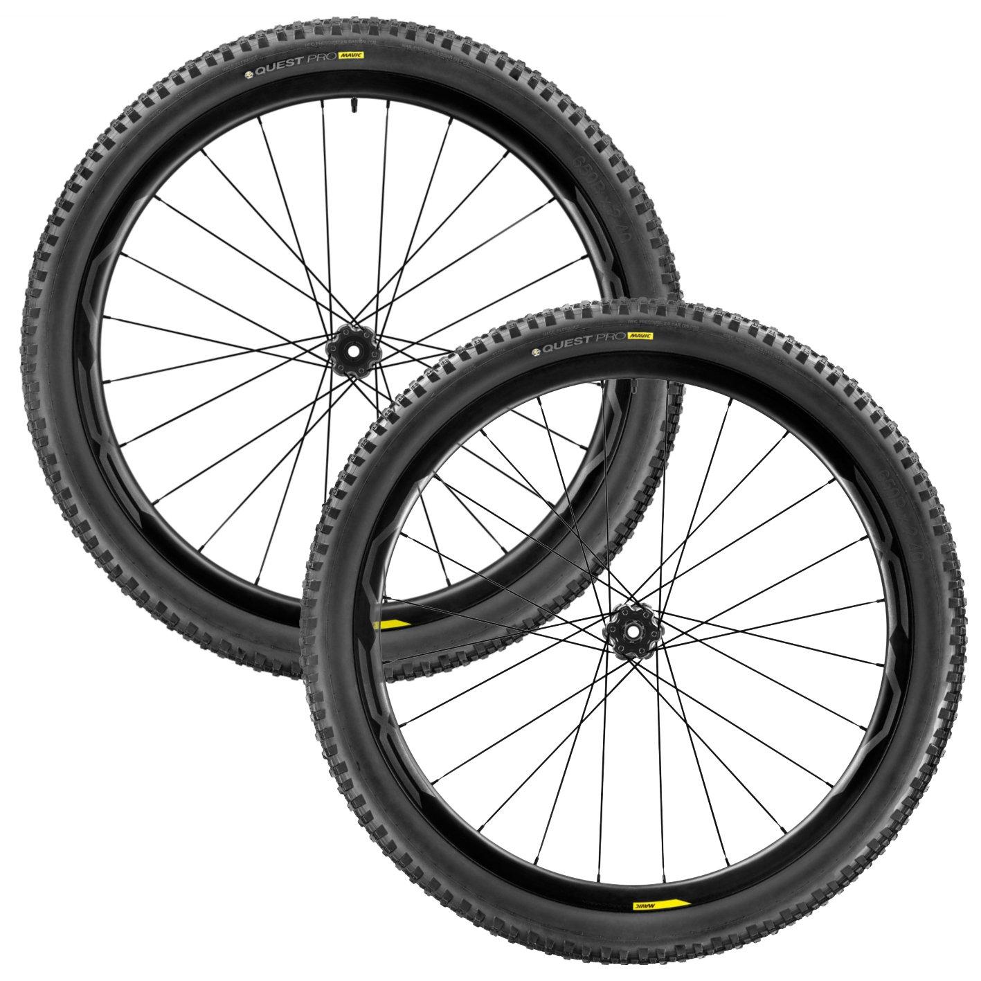 MAVIC(マビック) XA PRO CARBON 27.5x2.40 MTB Wheelset 2017 - [Shimano/Sram] [並行輸入品] B07433BL9S