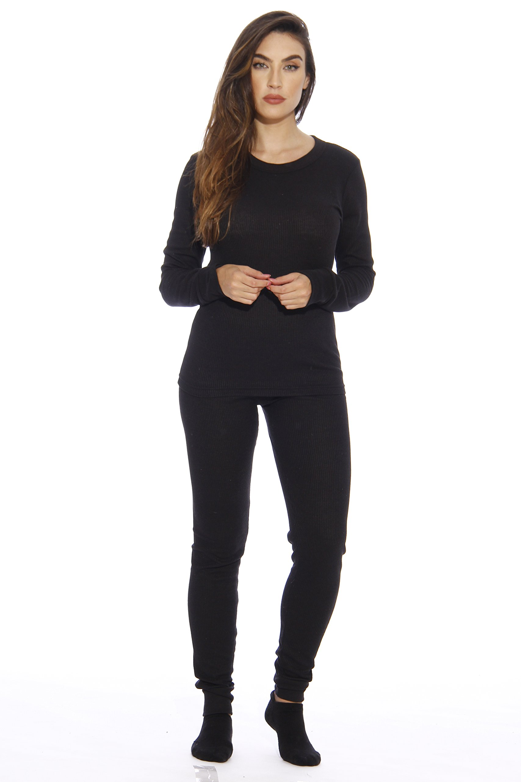 95862-Black-S Just Love Women's Thermal Underwear Set / Base Layer Thermals