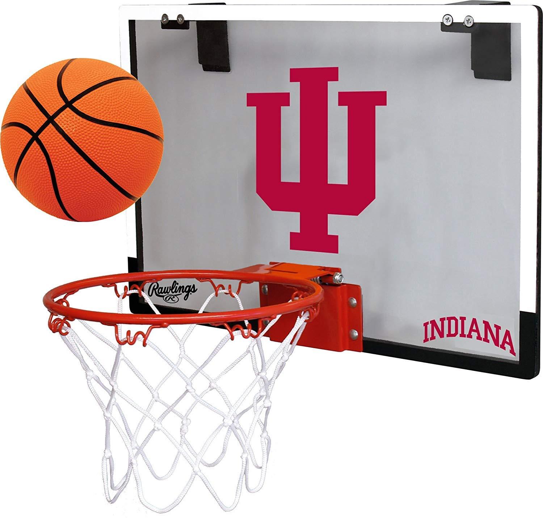 NCAA Indiana Hoosiers Game On Hoop Set by Rawlings by Rawlings