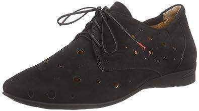 Linzi , Damen Schnürhalbschuhe schwarz BlackPatent, schwarz - BlackPatent - Größe: 39.5