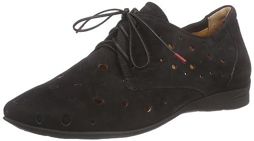Think Wunda Damen Derby Schnürhalbschuhe: : Schuhe