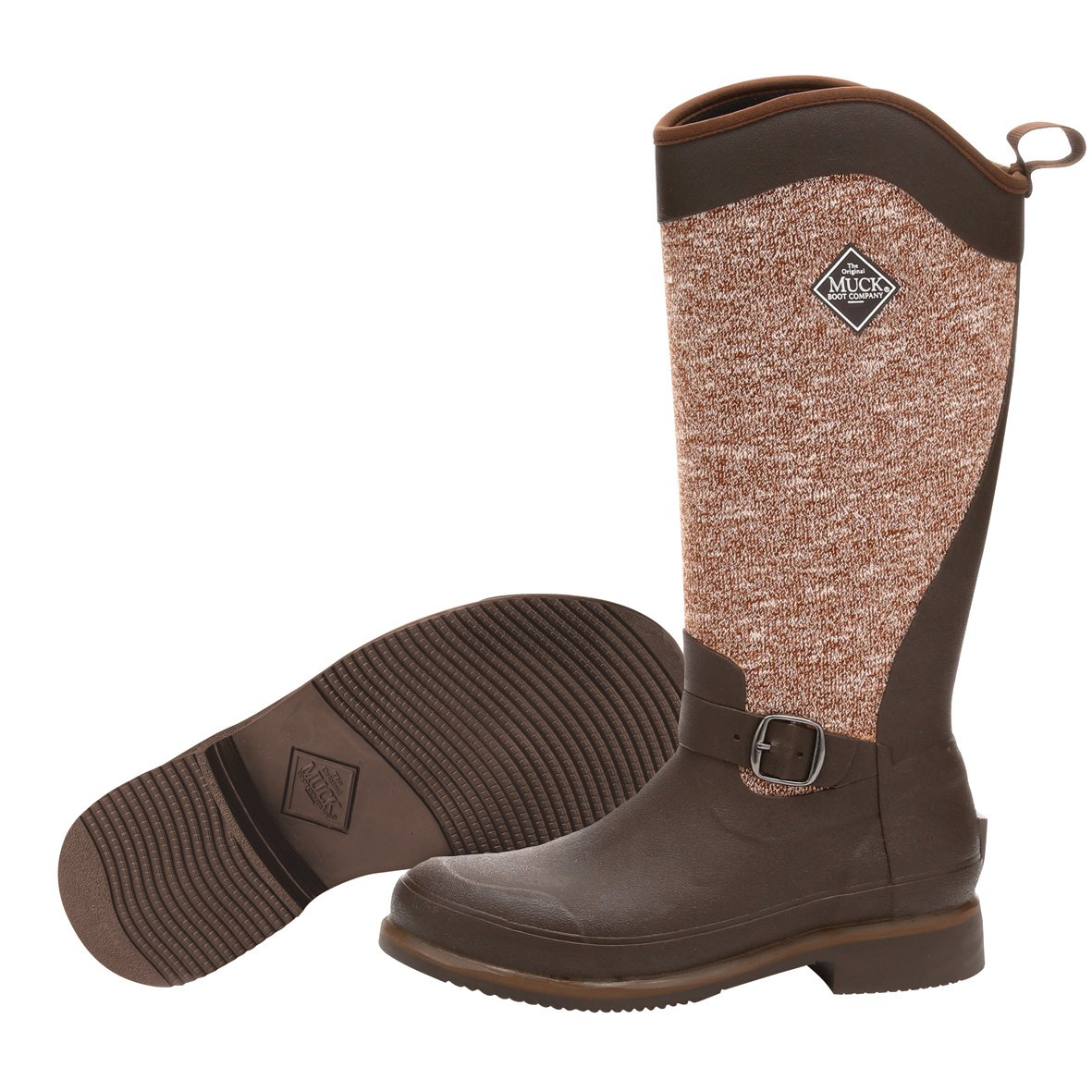 Muck Boot Women's Reign Supreme Snow Boot, Brown/Bison, 8 M US