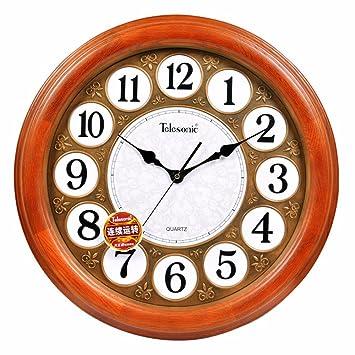 DIDADI Wall Clock Moderne Wohnzimmer Uhren Und Kreative Uhr Salon  Europäisch Anmutende Wand Uhr Stille Quarz