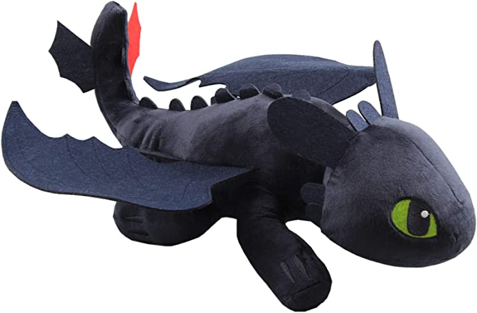 Amazon Com Uiuoutoy How To Train Your Dragon 15 Large Night Fury Toothless Plush Toys Games