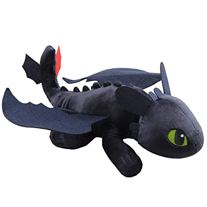 82a78a9f80a Amazon.com  uiuoutoy How to Train Your Dragon 15'' Large Night Fury ...