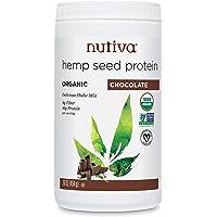 Nutiva Organic, Cold-Processed Hemp Protein, Chocolate, 16-ounce