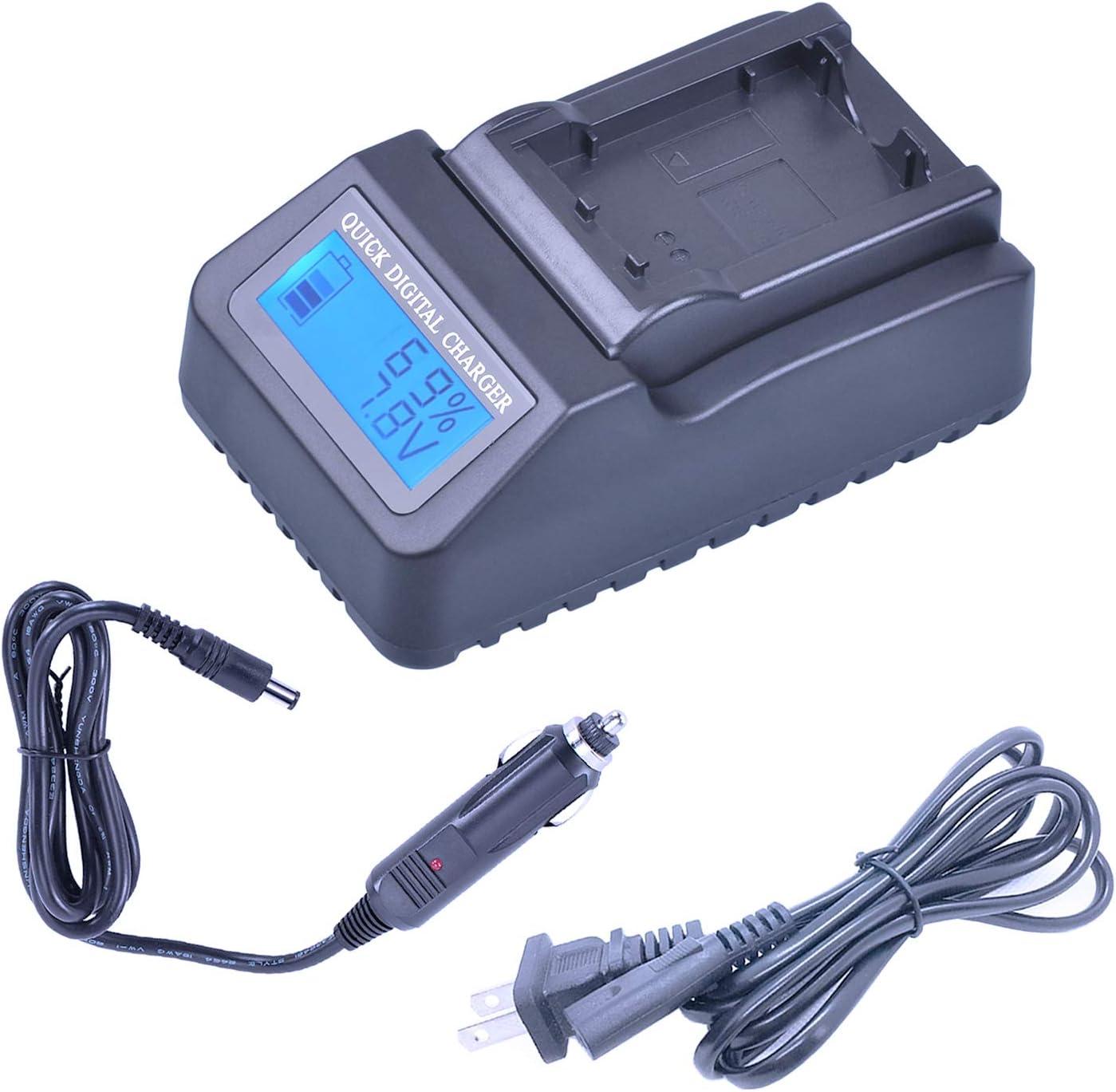 DCR-SR67 DCR-SR67E Handycam Camcorder DCR-SR65E Portable USB Battery Charger for Sony DCR-SR65