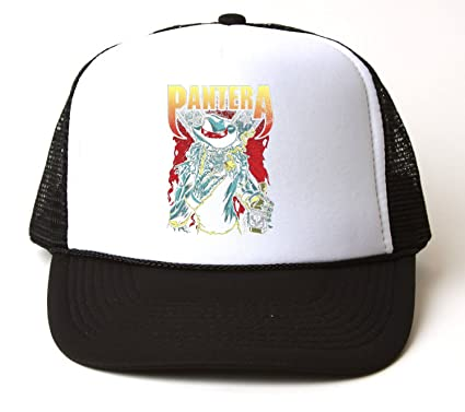 b86b1e6b1cbd1 Pantera Cowboy T-Shirt Trucker Hat  Amazon.co.uk  Clothing