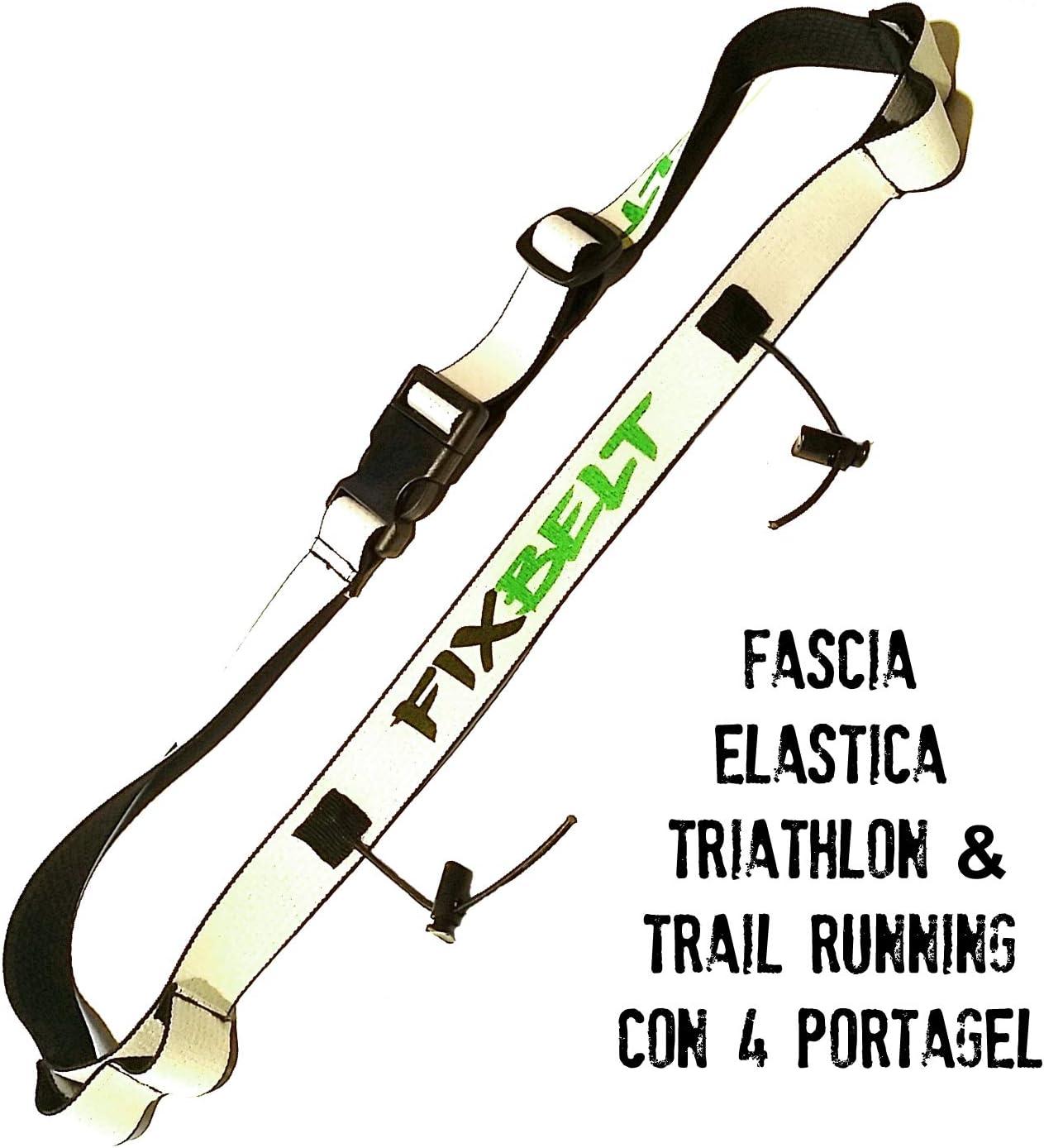 Triantlon Trail Running Sportmio Ceinture pour Numero de Participant de Triathlon Aussi pour la Course a Pied Running