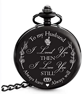 "Anniversary Gifts for Men - ""To my Husband"" Best Husband Gifts from Wife for Christmas, Birthday 
