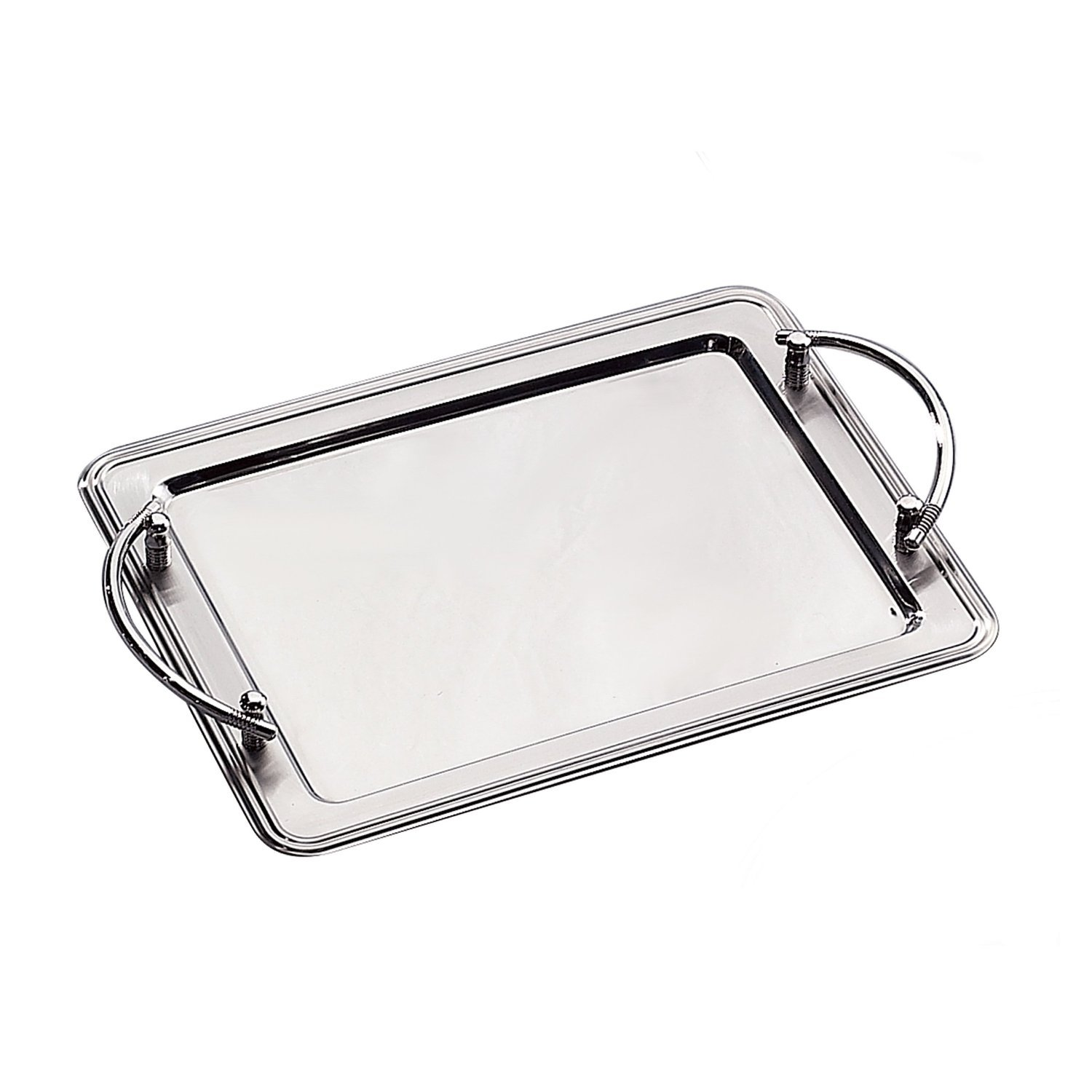 Amazon.com: Elegance Silver 73029 Bandeja rectangular ...