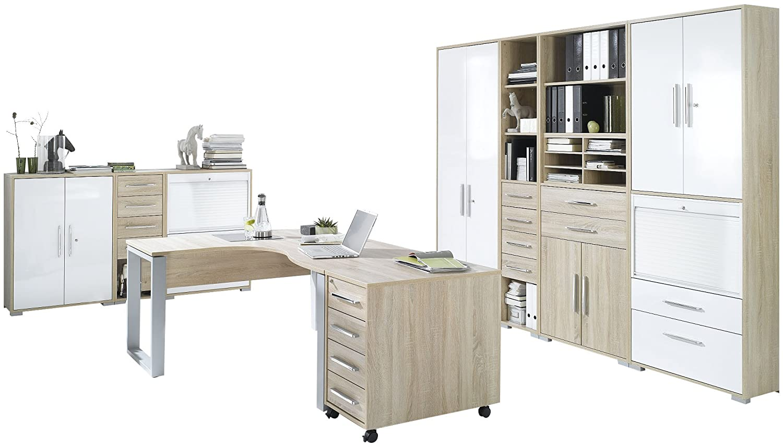 Maja Möbel 1209 2556 Büroprogramm System Sonoma Eiche Nachbildung