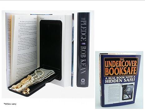 Amazon com: Small Hand Gun / Valuables Hidden Book Safe