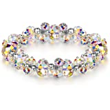 "LADY COLOUR ""When in Rome"" Strech Bracelet Made with Swarovski Crystals - A Little Romance Series"
