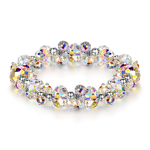 90ff12aea54b4 LADY COLOUR Bracelet ♥Gifts for Her♥ When in Rome 7 Inch Crystal Bracelet  Made with Swarovski Crystals - Encounter Your Romance Hypoallergenic ...
