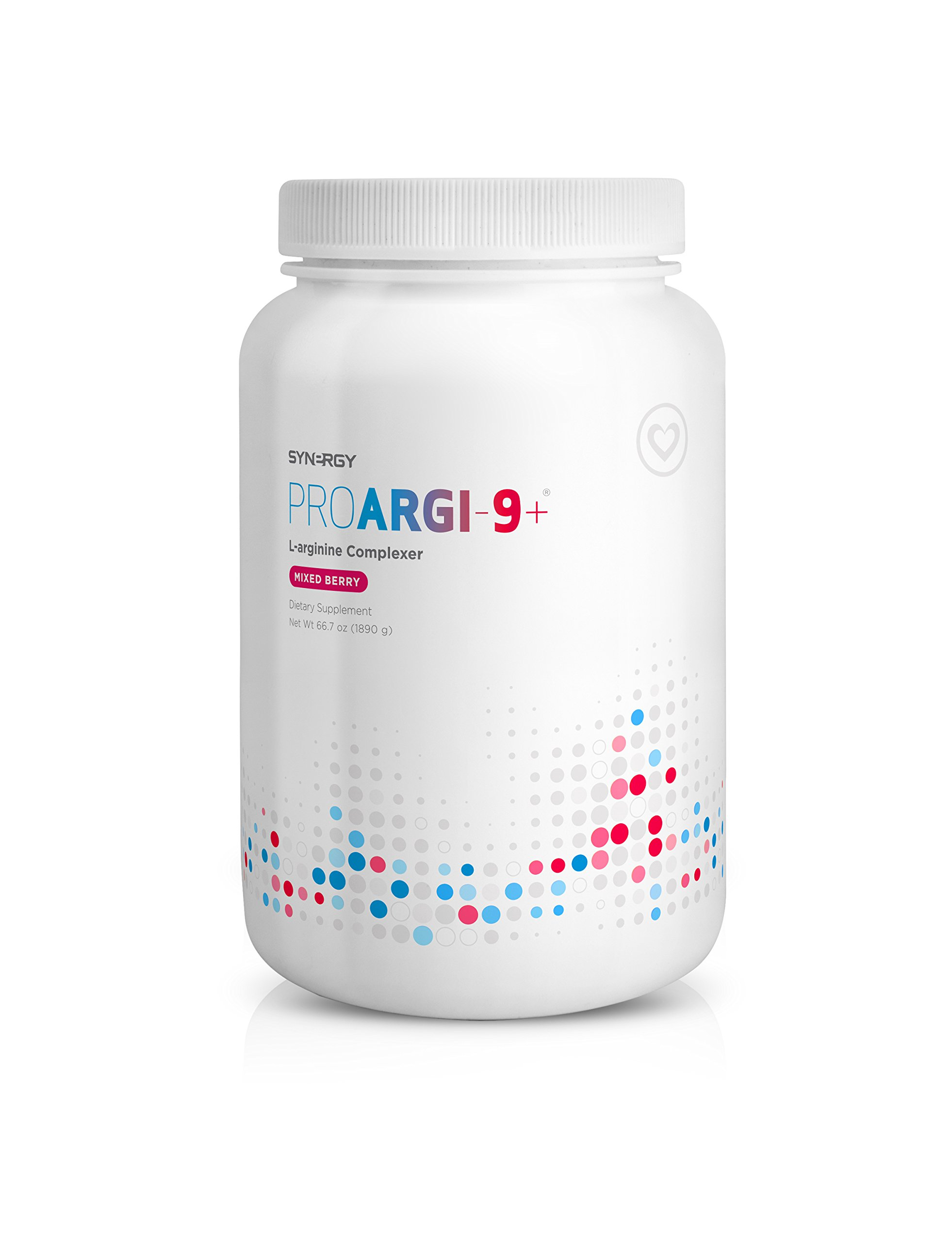Proargi9 Plus L-arginine Complexer Jumbo Jar 66.6 Oz Mixed Berry by Synergy