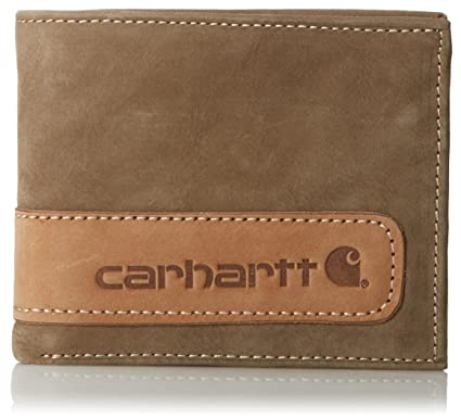 Carhartt Mens & Womens/Ladies Two-Tone Billfold Wing Leather Wallet
