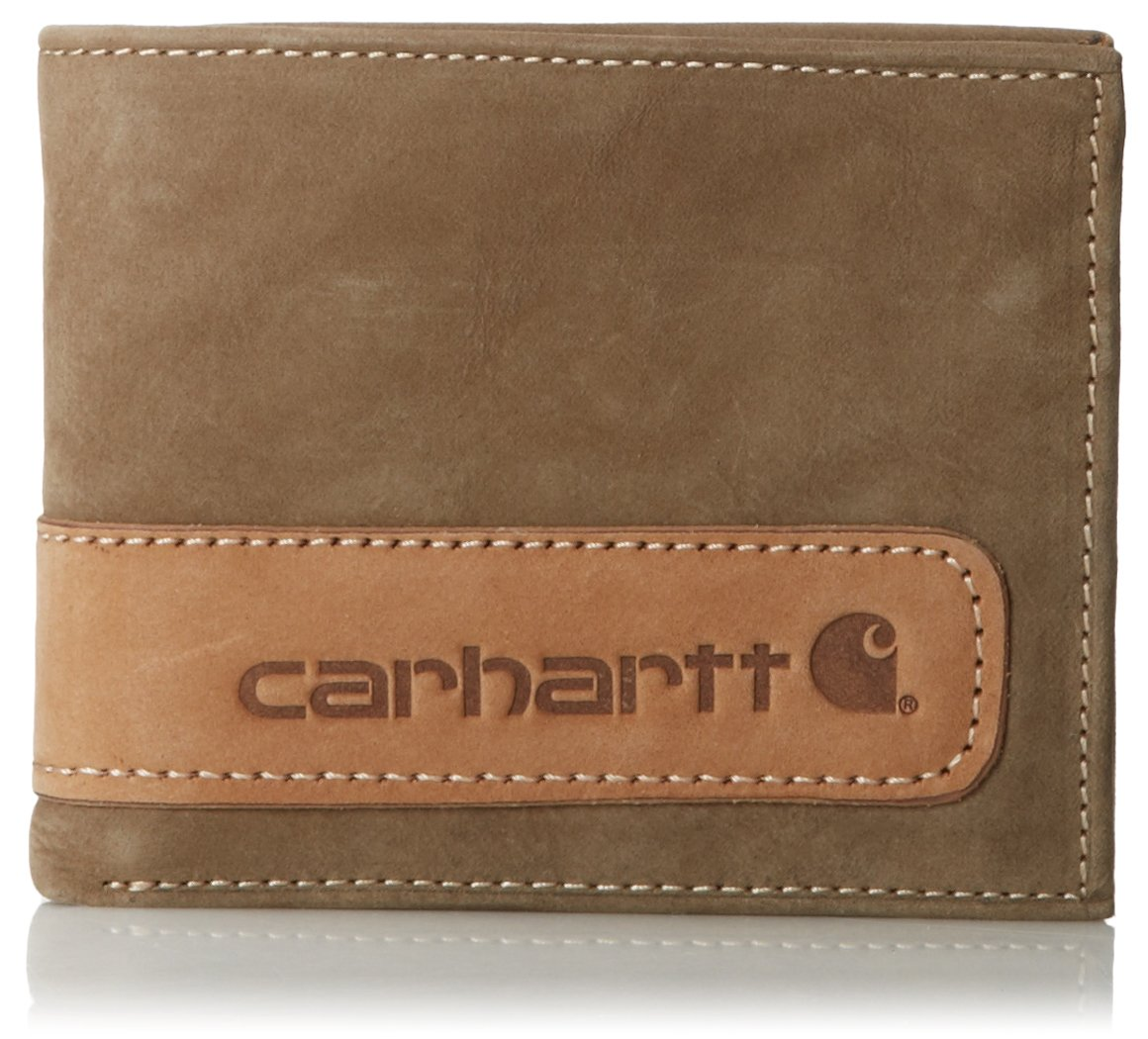 Carhartt Men's Twotone Billfold With Wing,Brown,One Size