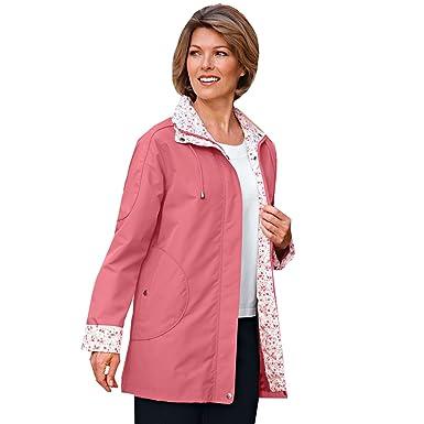 e7f872a356 Amazon.com  Blair Women s Water-Resistant Poplin Jacket - S Desert ...
