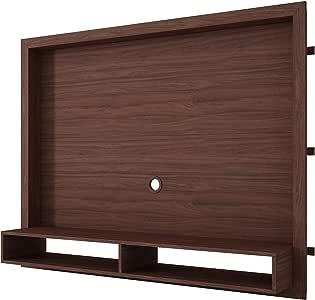 خزانة تلفزيون جدارية برفين لتلفاز بحجم 55 بوصة من بي ار في موفيز - لون بني