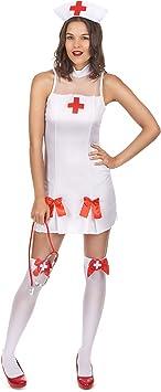Generique - Disfraz Enfermera Mujer S: Amazon.es: Juguetes y juegos