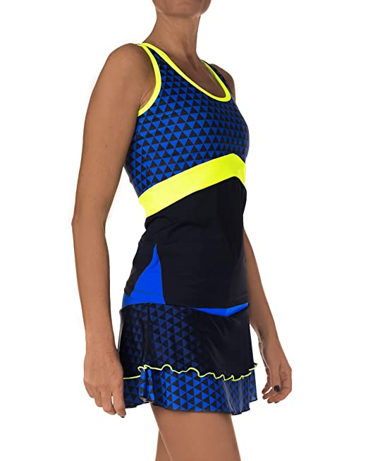 IDAWEN Sport Fashion Falda Deporte Mujer. Falda Vuelo para Padel o Tenis.