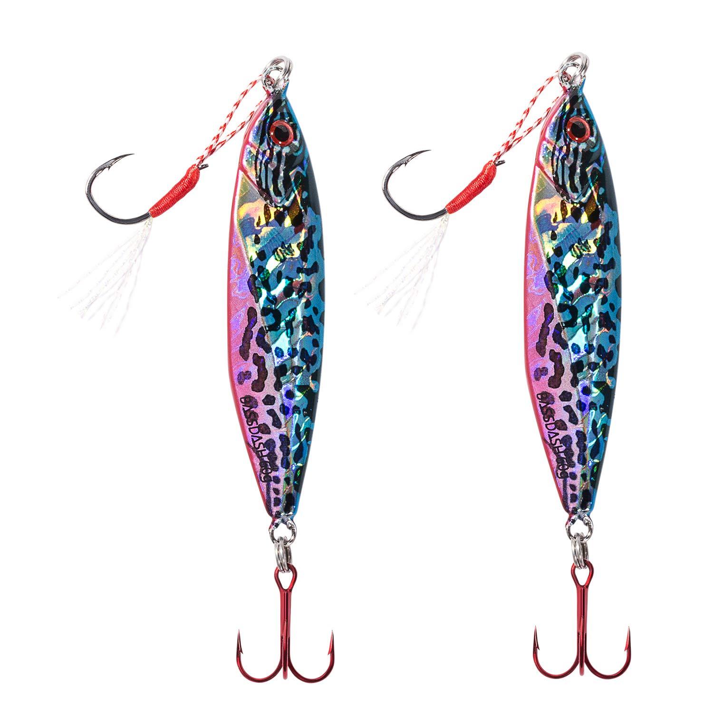 激安な bassdash Gungnirシャドウジグルアーwith (2-7/64 VMCフック20/30/40/60グラム 2pcs、for海水淡水釣り、パックの5 B07F17DBW3 oz) 60 grams (2-7/64 oz) 2pcs SHADOW - Sunfish 2pcs SHADOW - Sunfish 60 grams (2-7/64 oz), 白水村:6b706b75 --- a0267596.xsph.ru