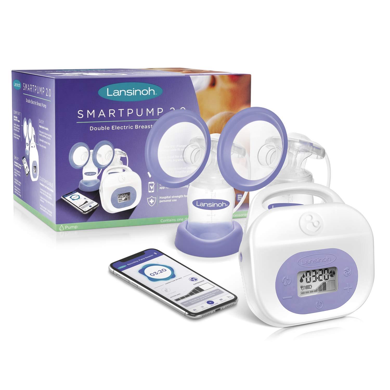 Amazon Com Lansinoh Smartpump 2 0 Double Electric Breast Pump Baby
