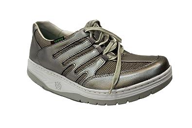 ce0f7c910f1725 Mephisto , Chaussures de Marche Nordique pour Femme - - Steel, 38 EU ...