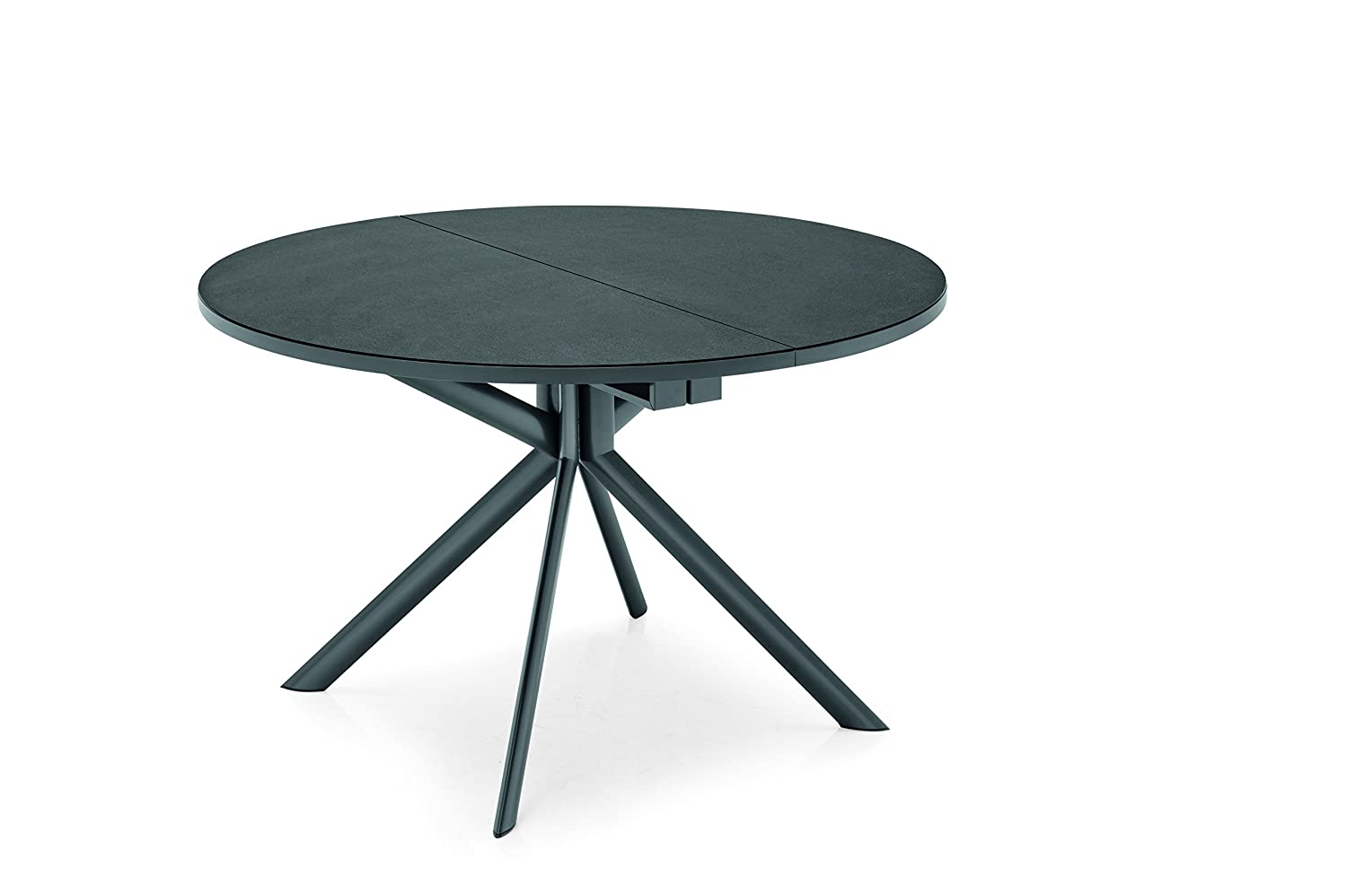 Amazon.com: Connubia Giove Round Extending Table with ...