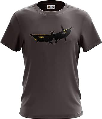 Team Queso Stencil Camiseta para Hombre