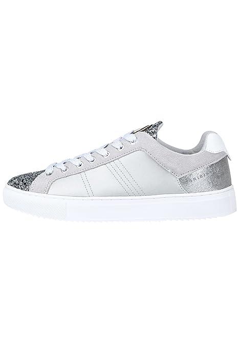 Colmar BRATRE Gold Oro Scarpe Donna Sneakers Lacci Pelle Glitter  MainApps   Amazon.it  Sport e tempo libero 9482ffe9414
