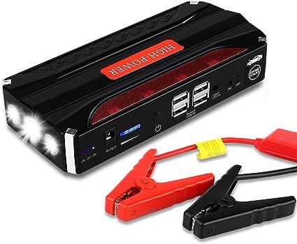 Jump Starter Batería Portátil de Emergencia para coche, YOKKAO ...