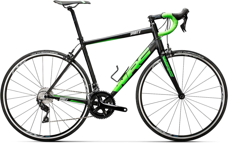 Conor WRC Spirit X 105 Bicicleta Ciclismo, Adultos Unisex, Verde (Verde), MD: Amazon.es: Deportes y aire libre