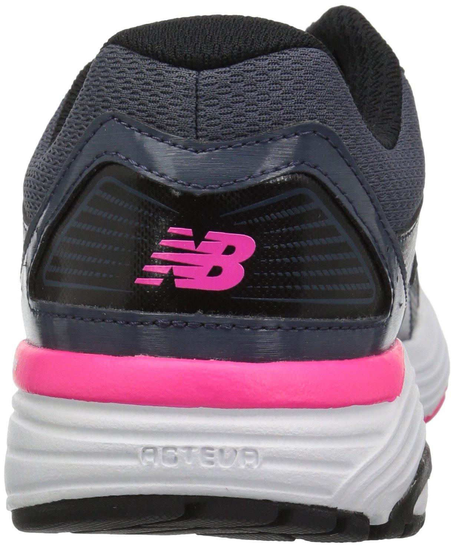New Balance Women's W560v7 Cushioning Running Shoe B01MY1YCPU 7 B(M) US|Grey/Black