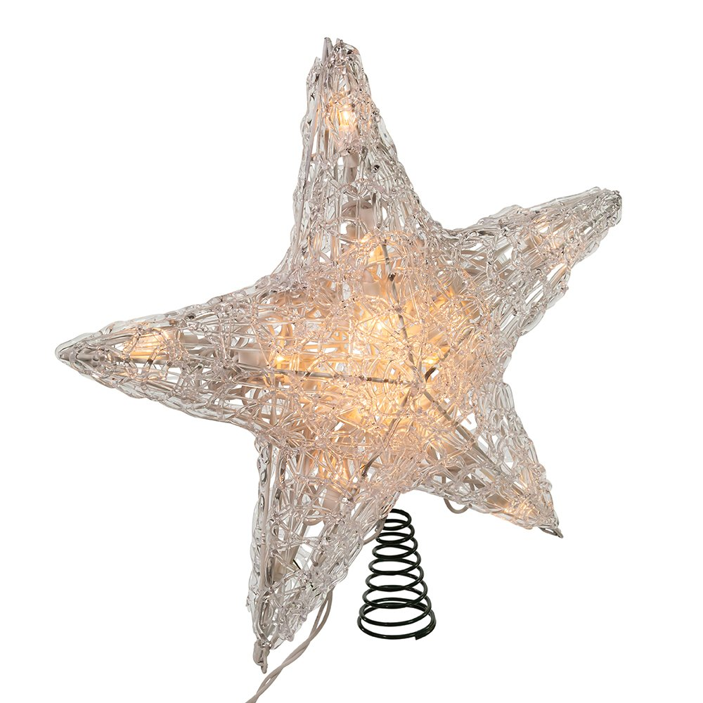 Kurt Adler 12-Inch 20/Light Star Treetop J2975